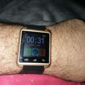 New Gold Tone Smart Watch